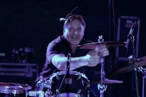 John Setting Up Drums GF 2015 IMG_7678